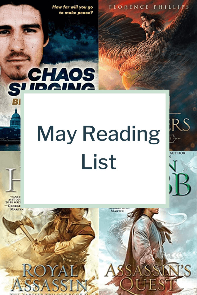 My reading list of May