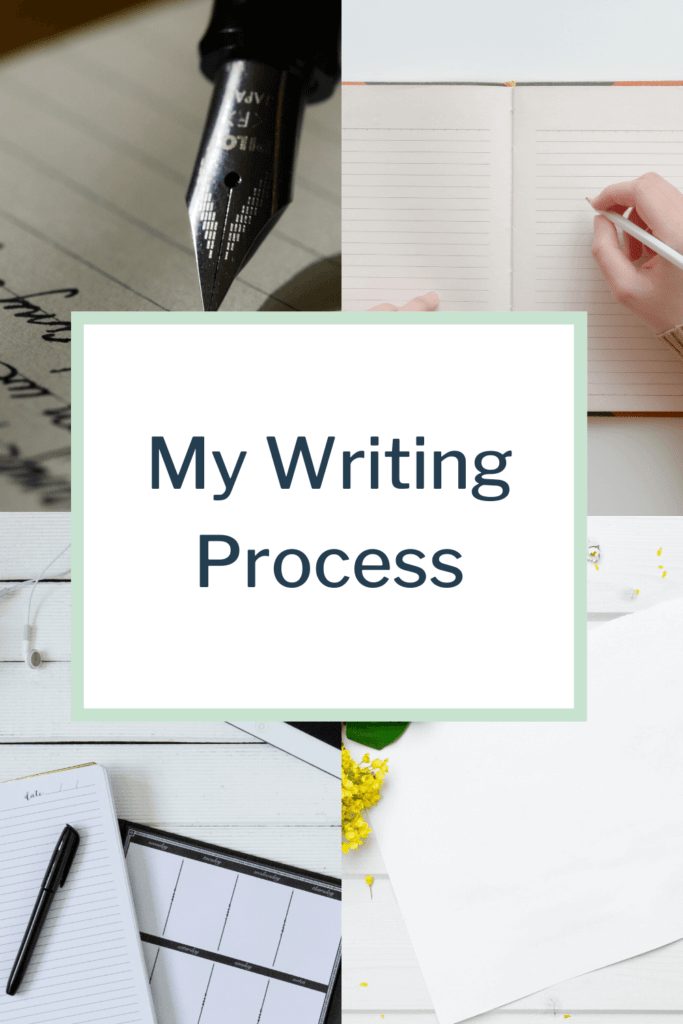 Learn about my writing process