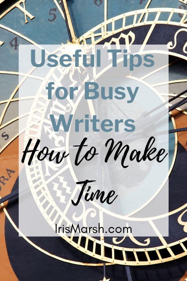 make time writing