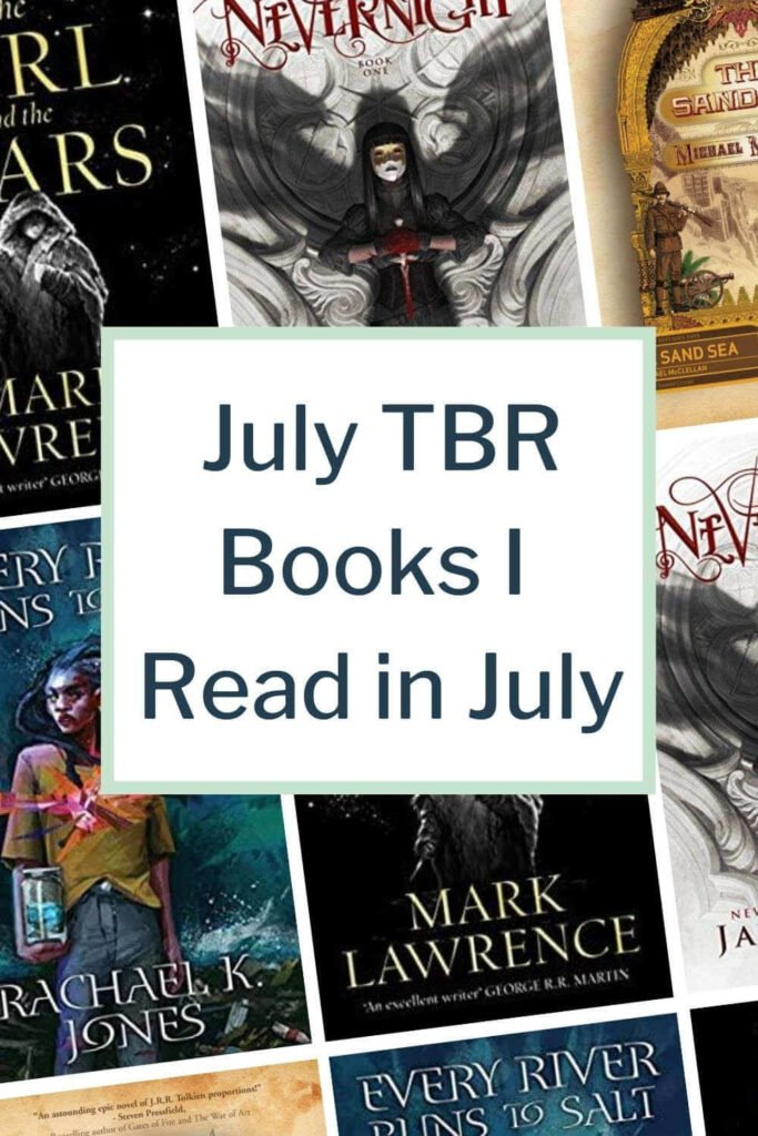 july tbr mini-reviews